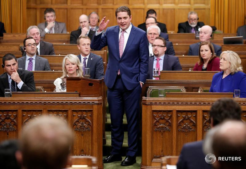 Conservative leader Andrew Scheer says he's for a single Quebec tax return