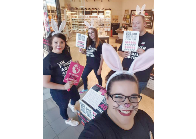 Campaign focusing on cruelty-free cosmetics showcases the Body Shop's continuing activism (National HR Awards)