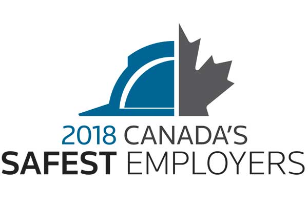 Announcing the 2018 Canada's Safest Employers