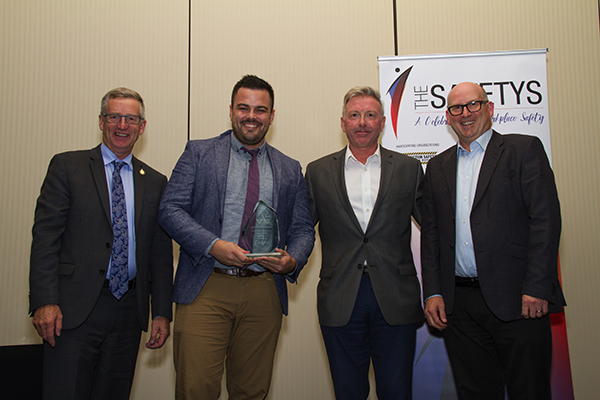 PepsiCo wins Safe Work Manitoba culture award