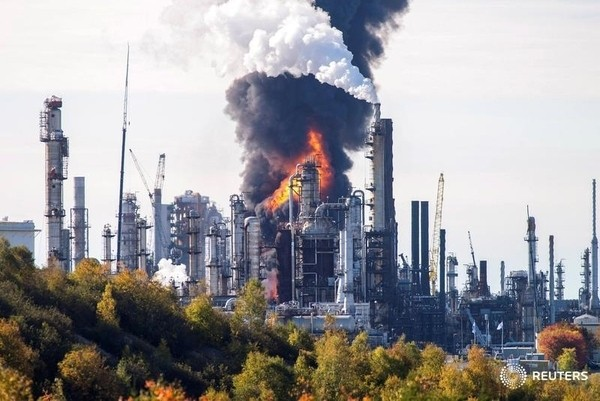 Irving refinery explosion