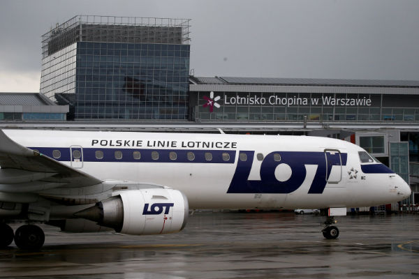 Poland's state-run airline LOT cancels flights as strike grinds on