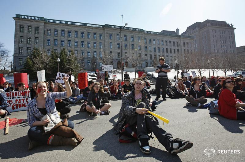 More than 50,000 Quebec students to strike seeking pay for internships