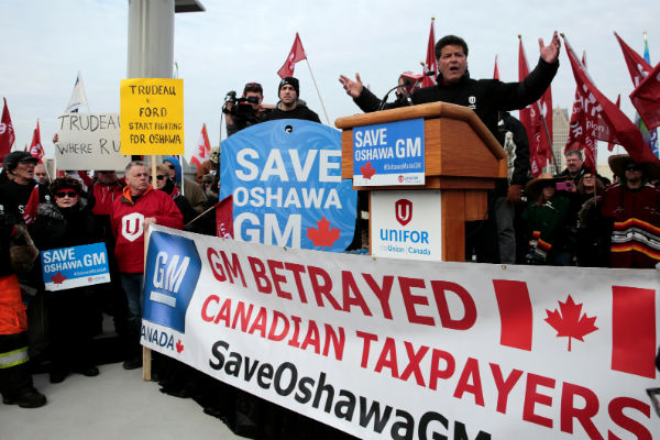 GM reaffirms Oshawa closure after meetings with Ontario, federal officials