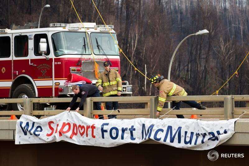 Former firefighter with PTSD sues Syncrude over suspended benefits, dismissal