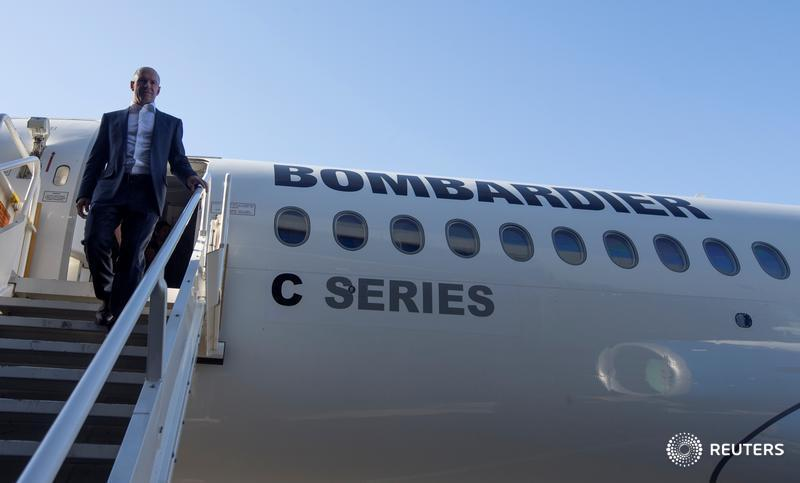 Bombardier executive pay falls 4 per cent; CEO unchanged at US$10.6 million