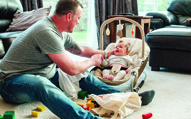 Parental sharing benefit comes into play