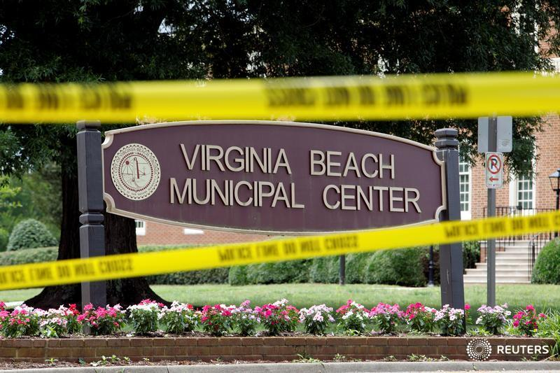 Police search for reason for Virginia Beach mass shooting