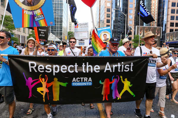 ACTRA at Toronto Pride