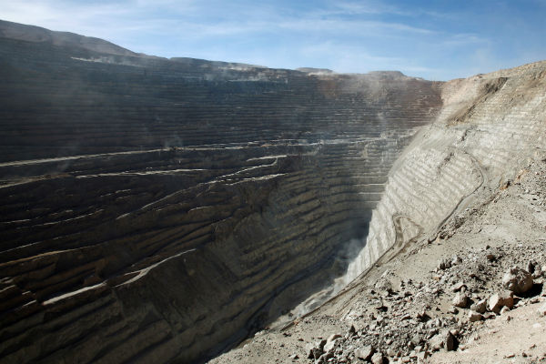 Workers begin strike at Chile's sprawling Chuquicamata copper mine