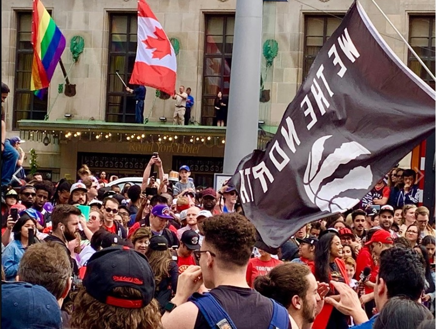 Employers take flexible approach to Raptors parade as fans head downtown