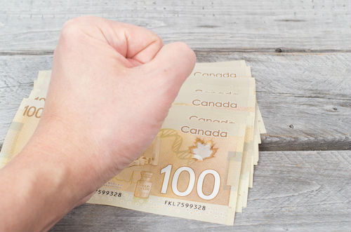 Canadians living paycheque to paycheque, challenged by debt, economy