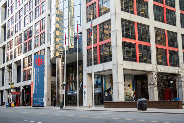 Man dies after falling down elevator shaft at CBC building