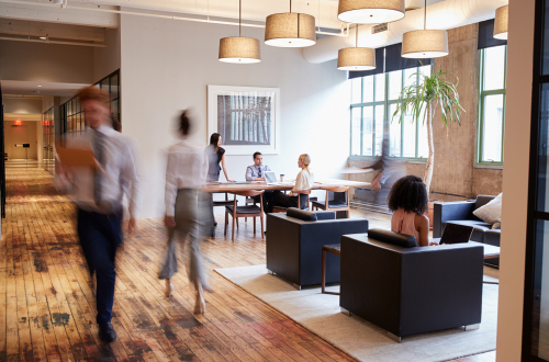 Feds launch coworking pilot project