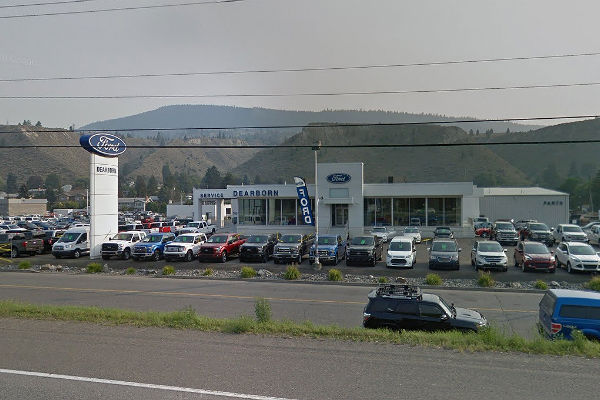 Bad-faith bargaining protest filed against Dearborn Ford in Kamloops, B.C.