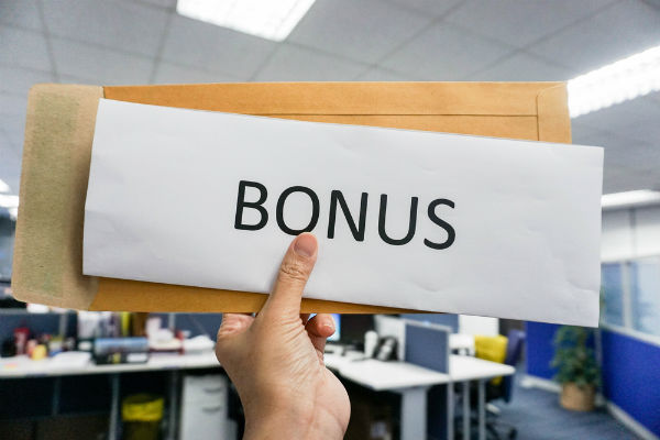 You're fired: Here's your bonus